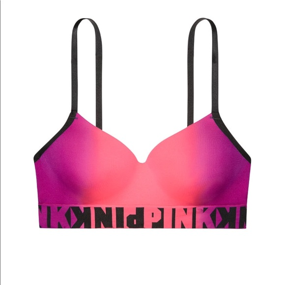 664caf9be3 VS PINK COOL AND COMFY WIRELESS LIGHTLY LINED BRA